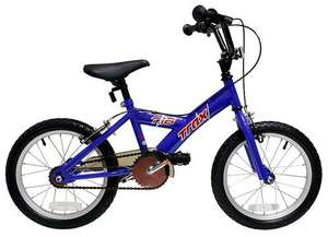 "Trax T.16 Boys Bike - 16"" was £69.99 now £44.99 with voucher:B13BKZ01 @ Halfords free delivery!!"