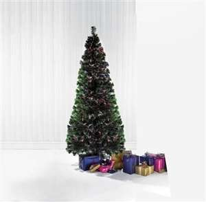 (6ft) Green Fibre Optic Christmas Tree 24 studio Was £149.99 Now £27.99