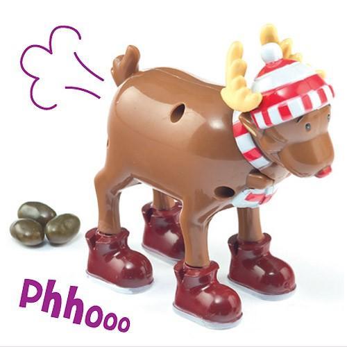 Sweet Poo Pooing Reindeer £6.94 delivered @ yellowmoon