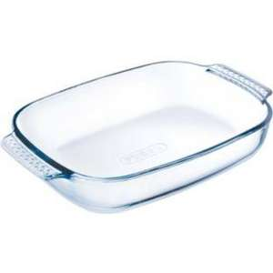 Pyrex Glass Easy Grip Rectangular Roaster - 35cm x 23cm.  Was £13.99 now £4.99 @ Argos