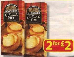 Farmfoods 12 Scotch pies for £2.00