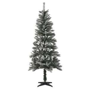 6ft 6in Aspen Flocked Christmas Tree £32.50 @ B&Q