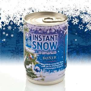 INSTANT SNOW £3.95 plus £3.25 delivery at red5.co.uk