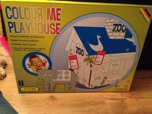 Colour me playhouse £3.99 @ Aldi