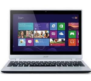 "Acer Aspire V5-122P 11.6"" Touchscreen Laptop - Silver 4GB Ram - 500HDD was £399, now £279 @ Currys"