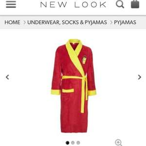 Iron man men's dressing gown £15 New Look