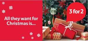 3 for 2 on Christmas Gifts @ Tesco from today + selected items in the Clubcard Exchange