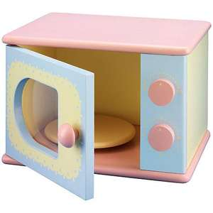 John Lewis Wooden Toy Microwave £5