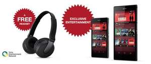 Sony xperia Z1 and free wireless headset £479 @ Sony Mobile