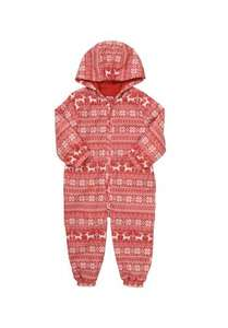 Fair Isle Puddle Suit £6.30 was £10-12 @ Tesco Clothing