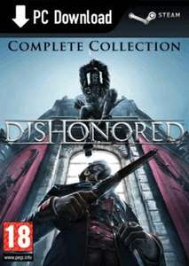 Dishonored Complete Collection (PC) £7.99 Download @ Game (Steam)