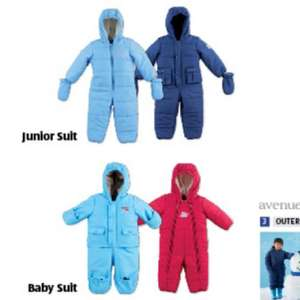 Infant snow suit £9.99 @ Aldi..