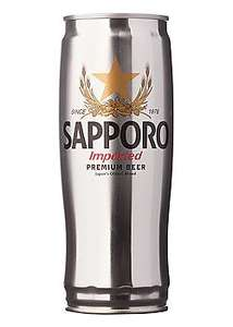 Sapporo Premium Beer 4X650ml for £6.00 at Tesco.