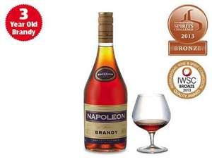 Napoleon Brandy from Aldi - £10.49
