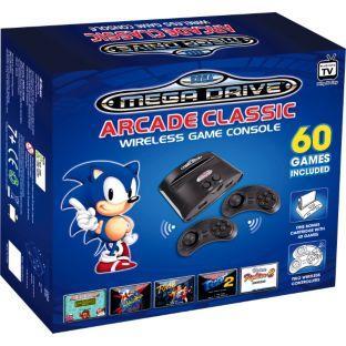 Sega Megadrive Wireless Games Console + 60 games - £31.99 @ Argos