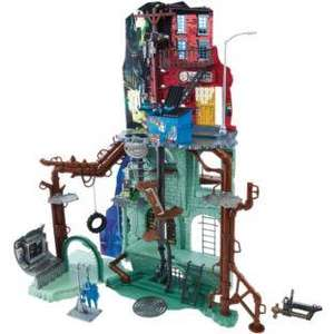 Teenage Mutant Ninja Turtles Secret Sewer Lair Playset for £79.99 at Argos (cheapest I have seen)