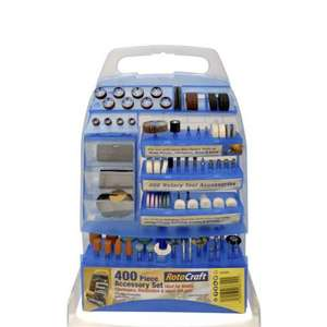 Accessories Mini Rotary Tools - 400pcs - £15.59 @ Rapid