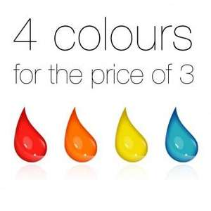 Buy three sensationail gel polishes and get one free! £37.50