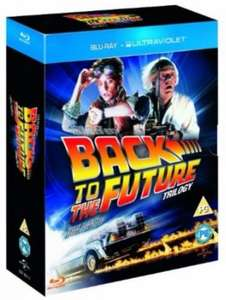 Back to the Future Boxset (Blu-Ray with UV Copy) only £10.00 delivered @ Tesco Direct (Price matched @ Amazon)
