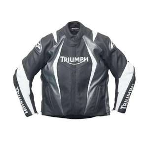 Mens Triumph Alpinestars AS8 Leather Jacket - Triumph Outlet £149