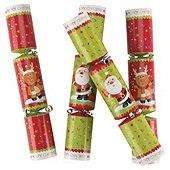 Santas Great Race Christmas Crackers, 6 Pack reduced to £4.50 @ Tesco