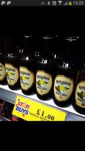 Kopparberg 500ml bottle for £1.00 @ home bargains