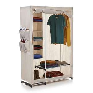 Stow Away Wardrobe Double ONLY £20 @ wilkinsons free instore collection