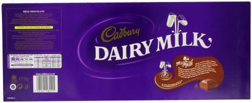 HUGE Cadburys 1KG Bar on AMAZON only £8.33