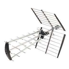 Labgear 4G Tri-Boom High Gain Outdoor TV Aerial 16.5dB Screwfix £5