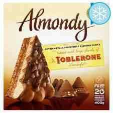 Almondy Toblerone 400G Cake ONLY £2.00 in TESCO - BEST CAKE EVER!