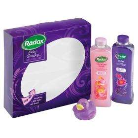 2 for £8 on Radox Relax Ducky... Gift Set - Usually £7 each - Save £6 @ Asda