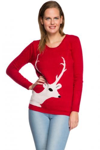 red winter jumper @justfor5pounds.com + 3.75 postage