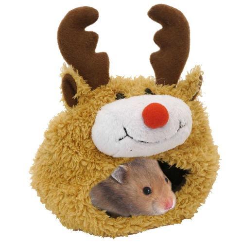 Boredom Breaker Reindeer Hamster Bed £4.89 delivered @ viovet