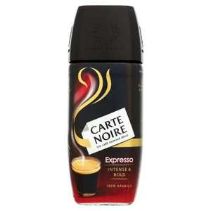 Carte Noire Expresso Instant Coffee 100G £2 at Tesco