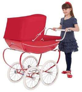 Silver Cross Oberon red Dolls pram £250 @Tesco