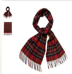 1/2 Price 100% CASHMERE SCARF @Edinburgh Woollen Mill