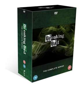 Breaking Bad - DVD Complete box set £40 with code @ tesco direct