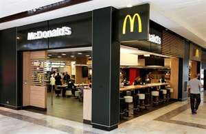 Mcdonalds free burger, fries or Mcflurry with student ID