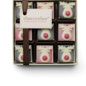 Reindeer chocolate gift box for £7 (plus £4.95 p&p) - 100% profit goes to Marie curie