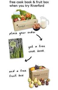 Try Riverford today and get your free award-winning Riverford Farm Cook Book and organic fruit box (worth £28 in total).