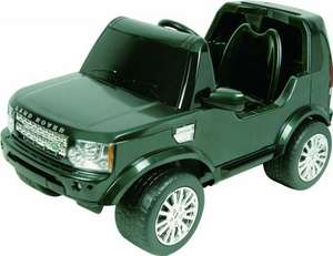 Official Licensed Land Rover Discovery Battery Operated Ride On Was £299 Now £104.19! @ Amazon