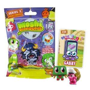 Moshi Monsters Moshlings Blind Bags Series 3 now 26p Instore At Toys R Us Click & Collect Available