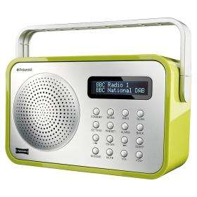 ASDA INSTORE & ONLINE : Polaroid Dab Radio Green or Silver £19
