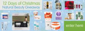 Big Green Smile Advent 12 Natural Beauty Items to win