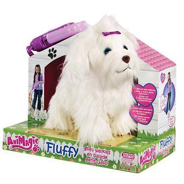Animagic Dog - Fluffy Go Walkies Interactive Pet £13 @ The Entertainer