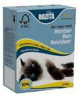 Bozita Cat Food Reindeer  Chunks @ SeaPets (high quality food) £1.09