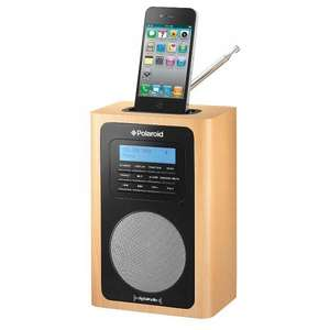 Polaroid Wooden DAB Radio Dock - Asda - £30