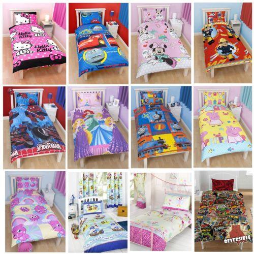 Childrens Disney & Character Bedding Sets £11.95 Delivered @ Global Megastore Via eBay