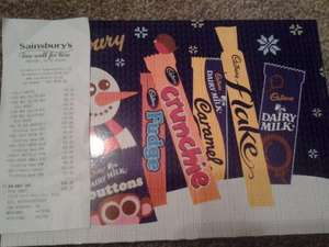 Cadburys medium selection box  £2.00 each bogof @ Sainsburys