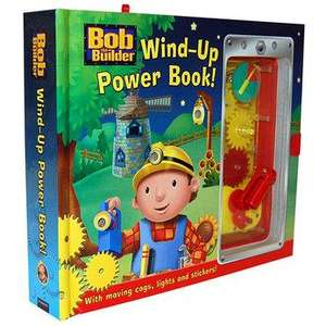 Bob The Builder Wind-Up Power Book - £1.99 - Click & Collect in 20 mins @ ToysRus